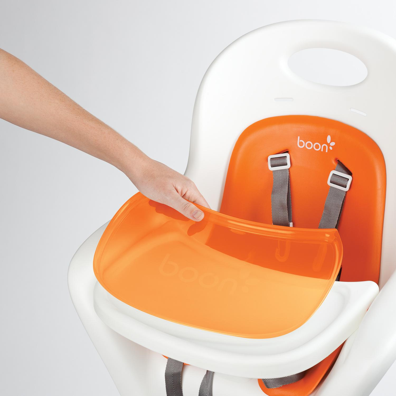 Boon flair pedestal high chair white orange walmart com - Whether Youu0027re Expecting Or Know Someone Who Is This Highchair Is Any Dream Boon Flair High Chair This Highchair